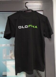 T-särk logoga -Olopiha