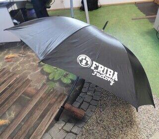 Vihmavari logoga - Friba Factory