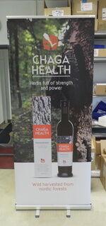 Roll up stend - Chaga Health