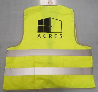 Helkurvest logoga - Acres