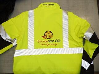 Logo trükk jopele - StrongeStar OÜ