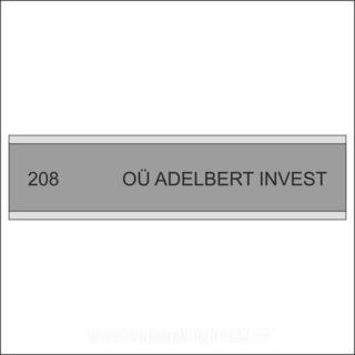 Ruumisilt - Adelbert Invest OÜ