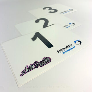 Numbrikleebised - Autograatsia/Promostar