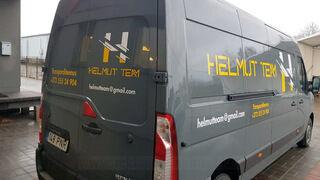 Reklaamkleebised kaubikule - Helmut Team