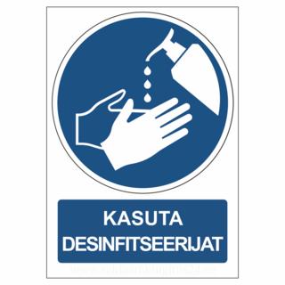 Infosilt - Kasuta Desinfitseerijat