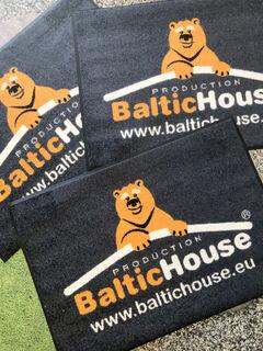 Reklaamiga porimatt - BalticHouse