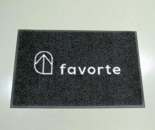 Uksematt logoga - favorte