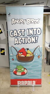 Roll - Up Angry birds