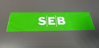 Varoitusnauha logolla SEB
