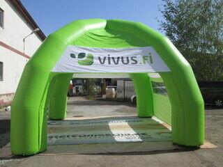 Ilmatäytteine mainosteltta Vivus