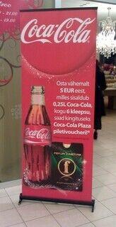 Roll-Up Coca-Cola