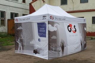 Pop-Up teltta G4S