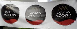 Maks ja Moorits PVC bänner