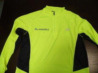 Spordisärk lukuga ja logoga Maru