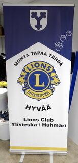 Klassinen Roll-Up Lions Club Ylivieska Huhmari