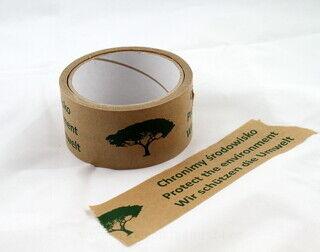 Paperista pakkausteippi logolla