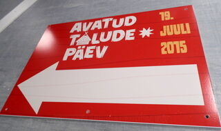 PVC kyltti Avatud Talude Päev