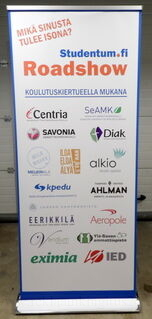 Roll-up Exclusive 850x2000 mm Studentum