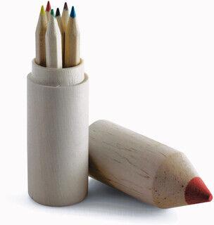 Pencil holder with 6 Pliiatsid