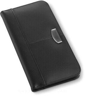 Bonded leather card holder