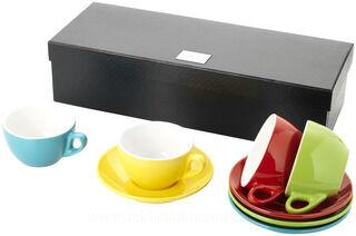4 piece cappuccino set