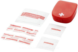 6 piece first aid kit