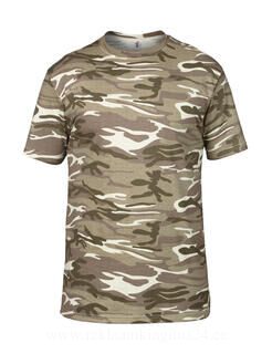 Adult Heavyweight Camouflage Tee 10. pilt