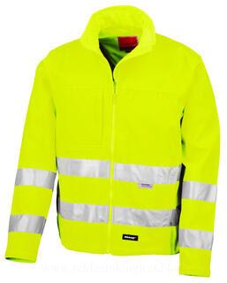 High-Viz Soft Shell Jacket 2. pilt