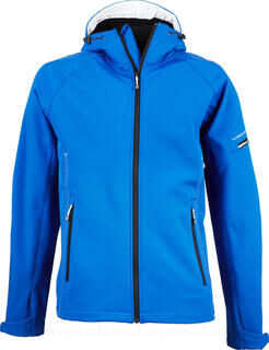 Hooded Fashion Softshell Jacket