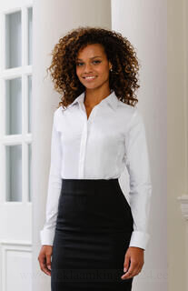 Ladies` LS Ultimate Stretch Shirt