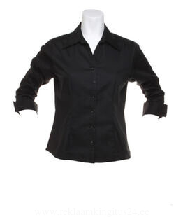 Oxford Bluse mit 3/4 Arm. 3. picture