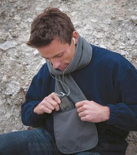 Fleece Scarf with Pocket