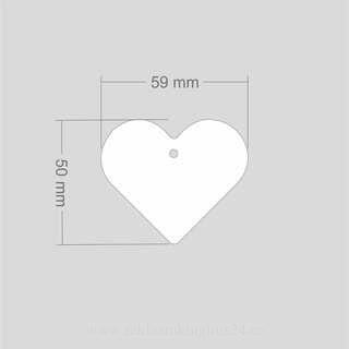 Helkur süda 59x50 mm