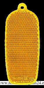 Heiastin kännykkä 32x78mm oranssi